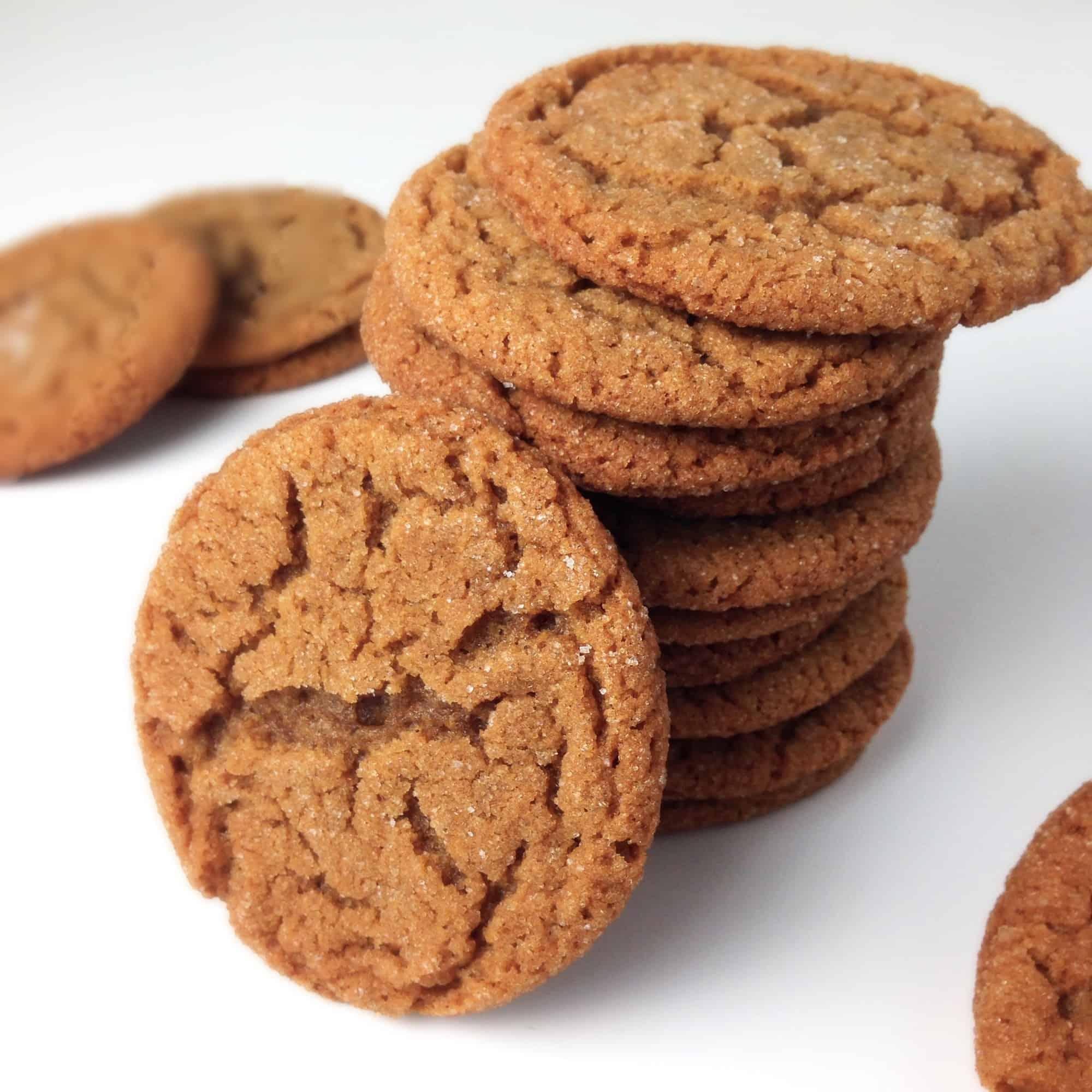 Molasses Sugar Cookies My Sweet Precision